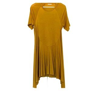 ZARA summer dress Medium in olive color